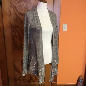 Buckle BKE boho gypsy hippie chic cardigan